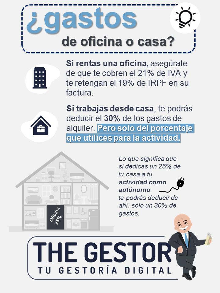 GASTOS OFIICNA Y CASA